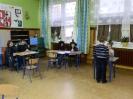 Andrzejkowy kącik wróżbitów w klasie IV-Andrzejki 2012